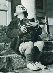Orfe austriac amb sabates noves. Gerard Waller